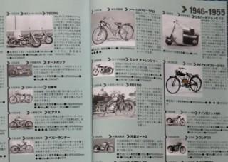 月刊オートバイ2013年2月号「日本のバイク史」特別付録から