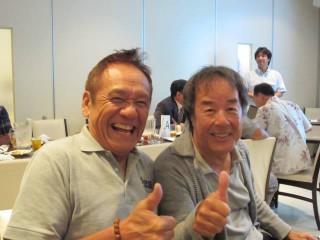 鈴木忠男さんと星野一義さん