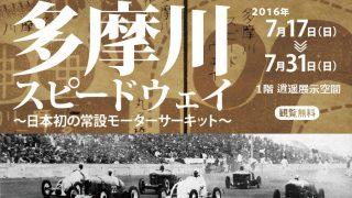 多摩川スイードウェイ開設80周年記念展