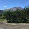 浅間山と浅間テストコース跡